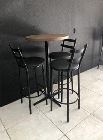 Banquetas - Mesa Pub - Mesas e Cadeiras para Restaurante REF 5300