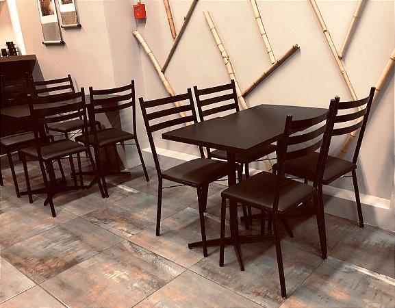 Conjunto com 1 Mesa e 2 Cadeiras - Mesas e Cadeiras para Restaurantes REF 7150