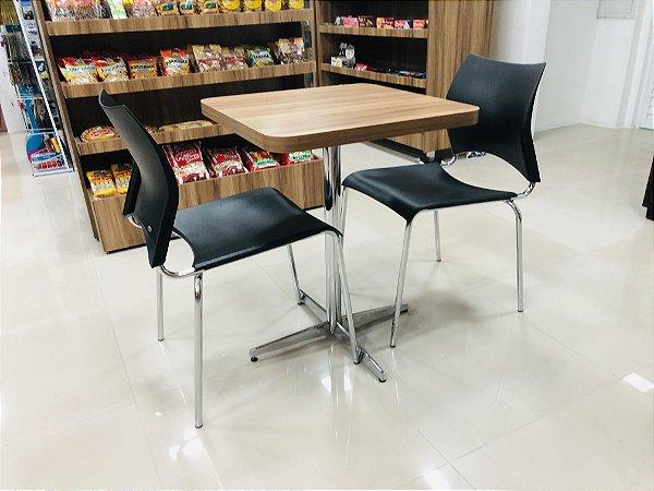 Conjunto com 1 Mesa e 2 Cadeiras - Mesas e Cadeiras para Restaurante REF 7170