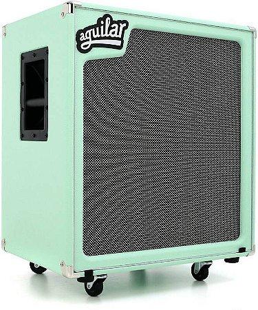 """Caixa Aguilar SL410 800 Watts 4 Ohms 4 Falantes 10"""" Poseidon Green"""