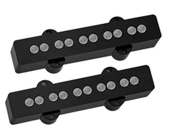 Captadores Aguilar (Par) AG 5J-HOT Jazz Bass 5 Cordas Ímãs 6mm