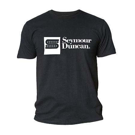 Camiseta Preta Seymour Duncan M