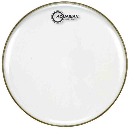 """Pele Classic Clear Snare Side 10"""""""