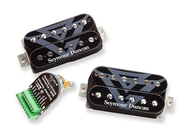 Captadores (Par) Guitarra AHB-11s GUS G Signature, Blackouts/BMP Preto