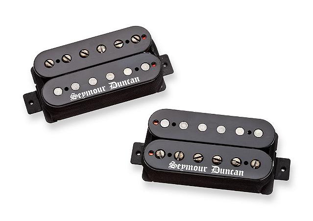 Captadores (Par) Guitarra Black Winter Humbucker Set Preto