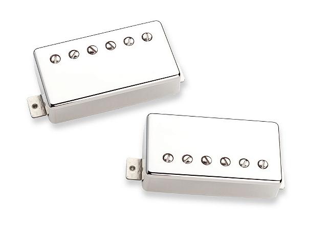 Captadores (Par) Guitarra Pearly Gates Set Niquelado