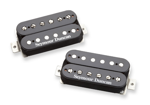Captadores (Par) Guitarra Pearly Gates Set, Preto