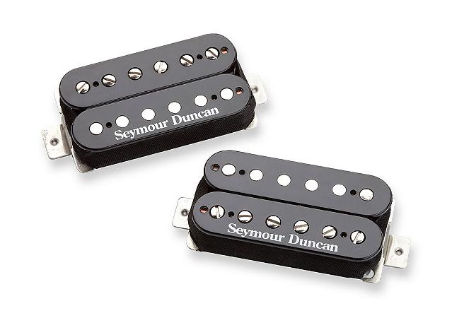 Captadores (Par) Guitarra SH-4/SH-2N Hot Rodded Humb Set , Preto