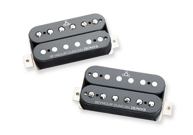 Captadores (Par) Guitarra ZS-1s Zephyr Preto