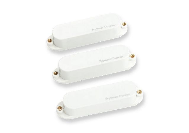 Captadores (Trio) Guitarra AS-1S Blackout  Branco
