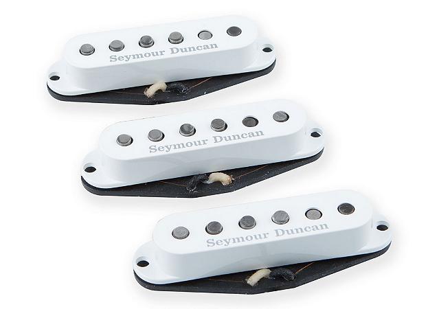 Captadores Seymour Duncan  (Trio) Guitarra SSL-1 California 50's, Branco