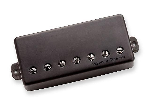 Captador Guitarra 7 Cordas Nazgul, Metal Preto