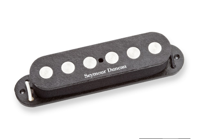 Captador Guitarra SSL-4 Quarter-Pound Flat Strat, Preto