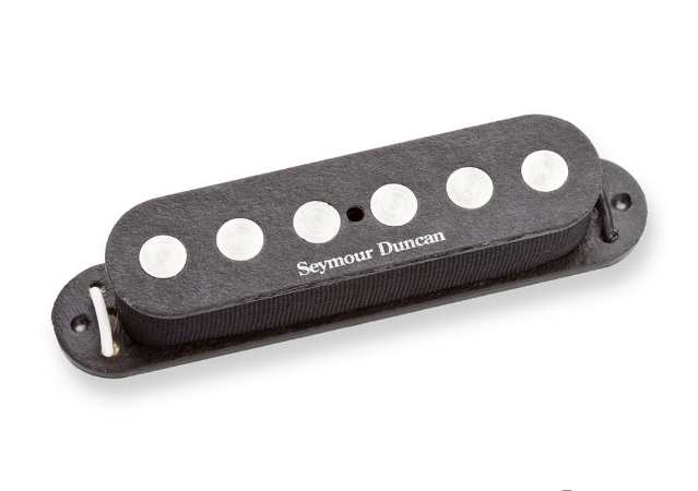 Captador Guitarra SSL-4 Quarter-Pound Flat Strat RwRp Tapped Preto