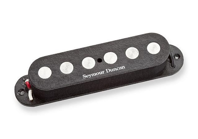 Captador Guitarra SSL-4 Quarter-Pound Flat Strat Tapped, Preto