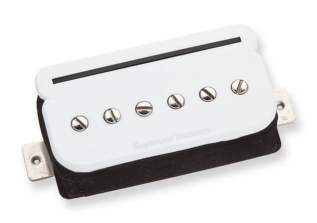 Captador Guitarra TBPR-1b P-Rails Trembuker,  Branco