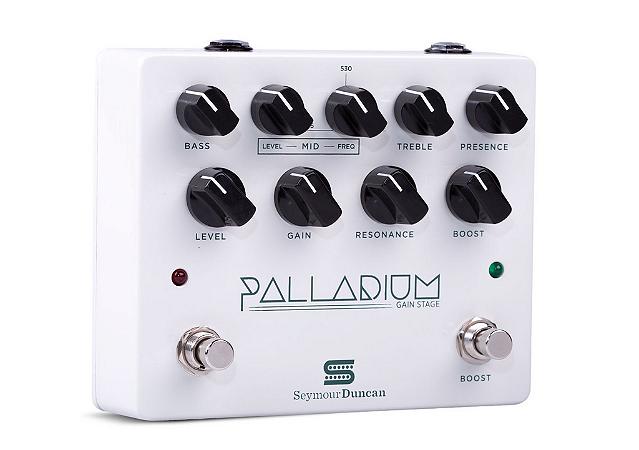 Pedal Palladium Preamp Branco