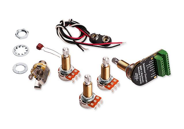 Pré Amplificador BMP-1 Blackouts, Elétrica Completa + Liberator, Potenciômetro Longo