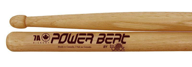 Baquetas Power Beat 7A Red Hickory