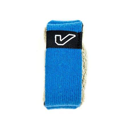 Abafador De Cordas Fretwrap Gruv Gear Individual Pequeno Azul, Com Velcro Ajustável