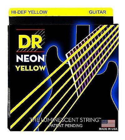 Encordoamento Hi-Definition NEON Yellow, Guitarra 9-42