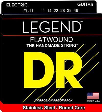 Encordoamento Legend Polished Flatwound, Guitarra Jazz 11-48