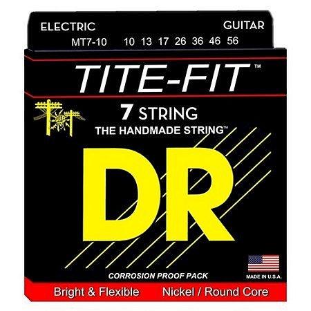 Encordoamento Tite-Fit Guitarra 7 Cordas 10-56 Medium