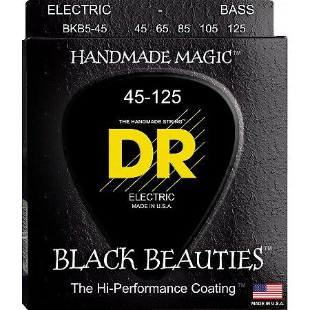 Encordoamento Black Beauties, Baixo 5 Cordas 45-125
