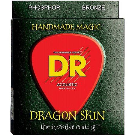 Encordoamento Dragon Skin, Violão 12-54
