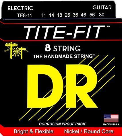 Encordoamento Tite-Fit Guitarra 8 Cordas 11-80