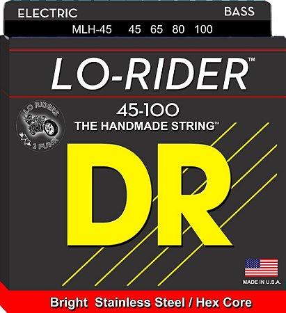 Encordoamento Lo-Rider Baixo 4 Cordas 45-100
