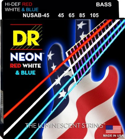 Encordoamento Hi-Definition NEON USA  Baixo 4 Cordas 45-105