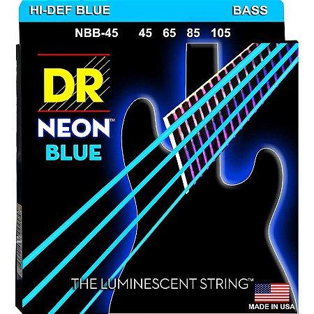 Encordoamento Hi-Definition NEON Blue, Baixo 4 Cordas 45-105