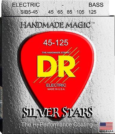 Encordoamento Silver Star Baixo 5 Cordas, 45-125