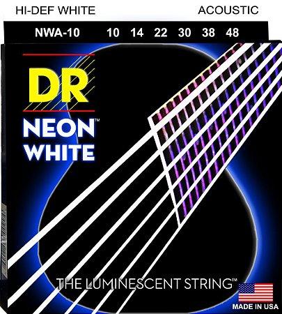 Encordoamento Hi-Definition NEON White, Violão 10-46