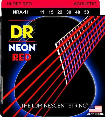 Encordoamento Hi-Definition NEON Red, Violão, 11-50