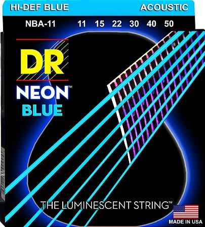 Encordoamento Hi-Definition NEON Blue, Violão, 11-50