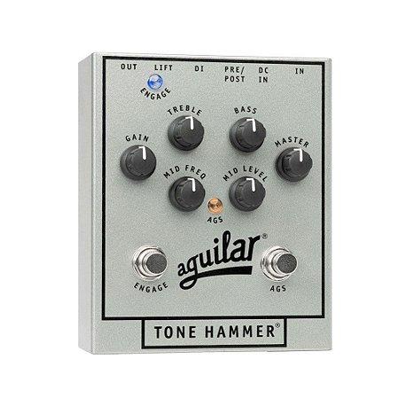 Pedal Aguilar Preamp/Direct Box P/ Baixo Tone Hammer SÉRIE ESPECIAL 25 anos
