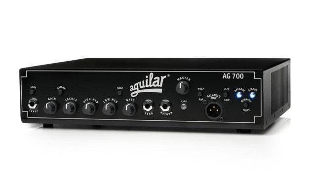 Cabeçote Aguilar AG 700, Classe D 700 Watts/4 Ohms Saída XLR