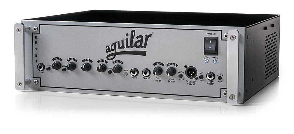 Cabeçote Aguilar DB 751 Preamp Valvulado (3 x 12AX7)