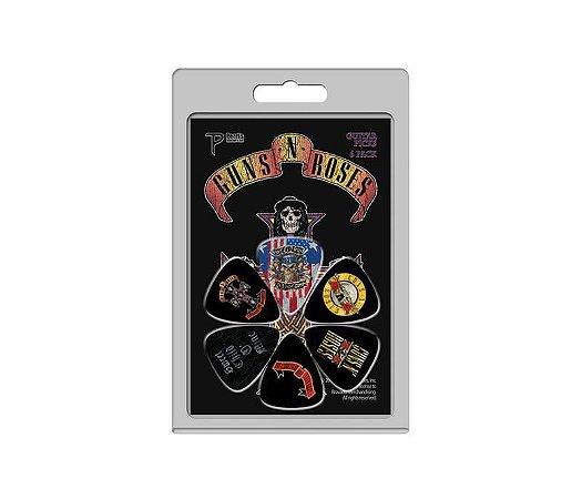 Palhetas Perri's Guns N'Roses - Pacote Com 6 unidades