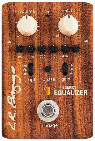Pedal LR Baggs Align Equalizer Pré-Amplificador, EQ 6 Bandas