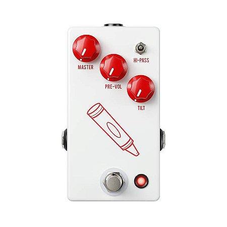 Pedal JHS Crayon Preamplificador, Distorção, Fuzz Para Guitarra