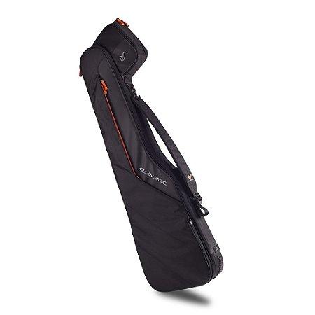 Bag Profissional GRUVGEAR GigBlade 2 Para Contrabaixo, Nylon Impermeável, Preto