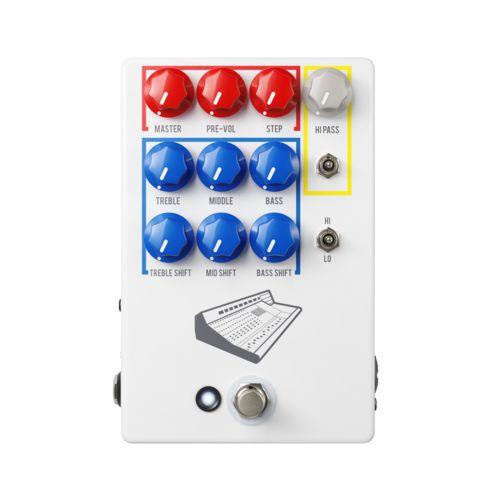 Pedal JHS Colour Box V2 Preamp / Eq / Overdrive / Distortion / Fuzz / DI Box