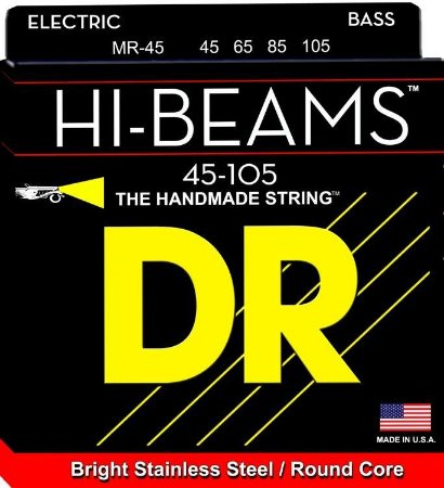 Encordoamento Hi-Beams Baixo 4 Cordas, 45-105, Aço Inox, Núcleo Redondo