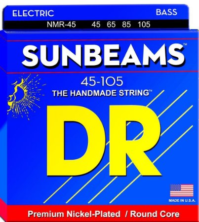 Encordoamento de Baixo SUNBEAM Nickel Plated Bass 45-105