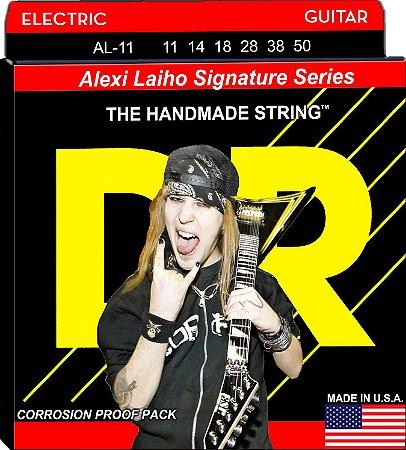 Encordoamento Alexi Laiho Signature Guitarra, 11-50, Níquel, StingLife, Núcelo Redondo