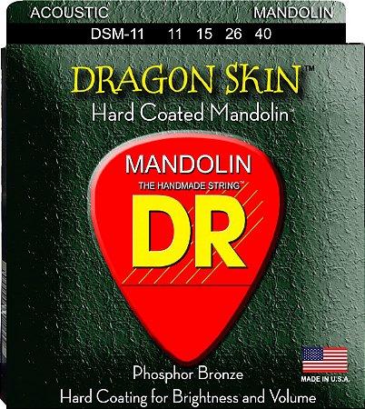 Encordoamento Dragon Skin Mandolin 11-15-26-40, Phosphor Bronze, Hexa, Terminal Em Laço