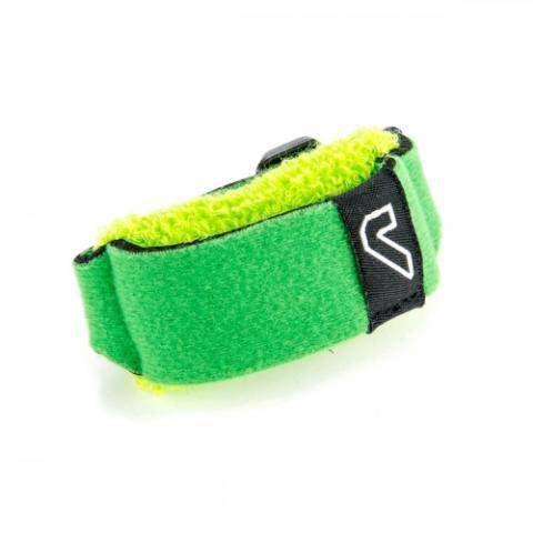 Abafador De Cordas Fretwraps Individual Grande Verde, Com Velcro Ajustável